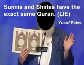 sunnis-shias-same-quran-lie
