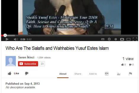 09042013 youtube salafis malaysia
