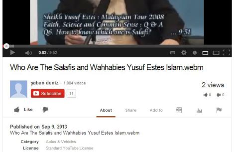 09092013 youtube salafis malaysia